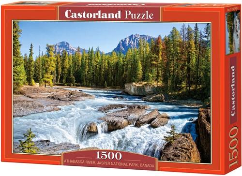Athabasca River, Jasper National Park Puzzel (1500 stukjes)