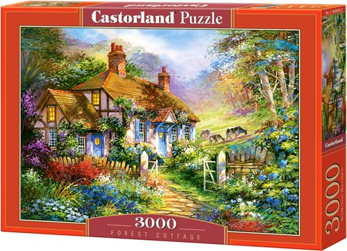 Forrest cottage Puzzel (3000 stukjes)