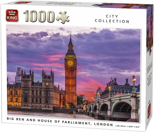 The Big Ben London Puzzel (1000 Stukjes)