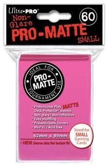 Sleeves Pro-Matte - Small Fel Roze (62x89 mm)