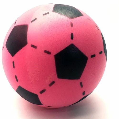 Foam Voetbal Roze (20cm)