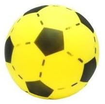 Foam Voetbal Geel (20cm)