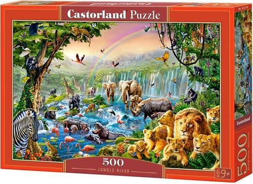 Jungle River Puzzel (500 stukjes)