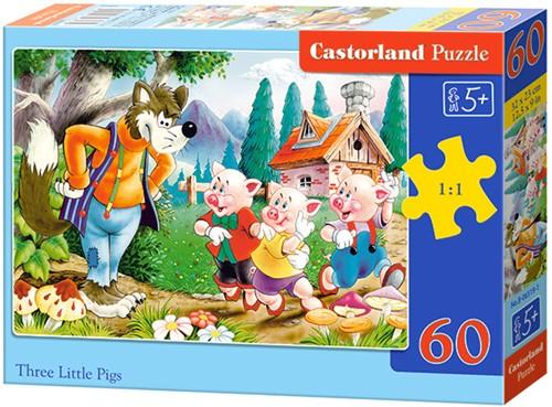 Three Little Pigs Puzzel (60 stukjes)