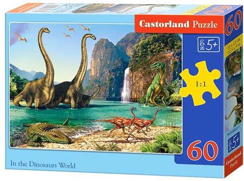 In the Dinosaurus World Puzzel (60 stukjes)