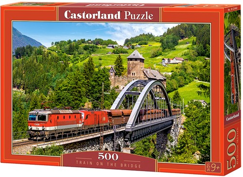 Train on the Bridge Puzzel (500 stukjes)