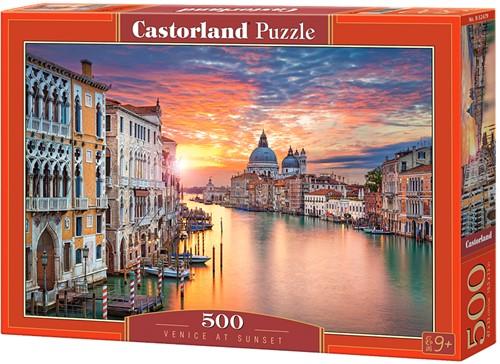 Venice at Sunset Puzzel (500 stukjes)