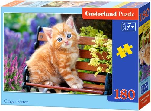Ginger Kitten Puzzel (180 stukjes)