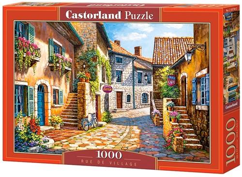 Rue de Village Puzzel (1000 stukjes)