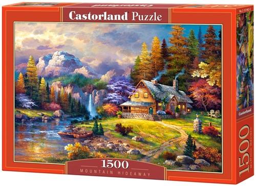 Mountain Hideaway Puzzel (1500 stukjes)