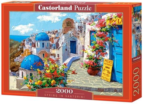 Spring in Santorini Puzzel (2000 stukjes)