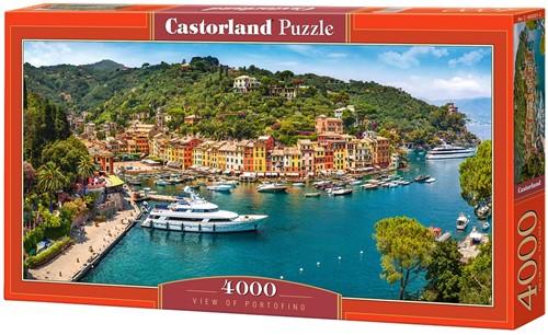 View of Portofino Puzzel (4000 stukjes)