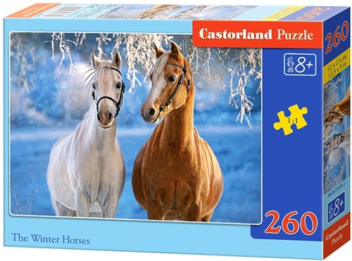 The Winter Horses Puzzel (260 stukjes)