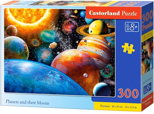 Planets and their Moons Puzzel (300 stukjes)