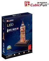3D Puzzel Big Ben LED (28 Stukjes)