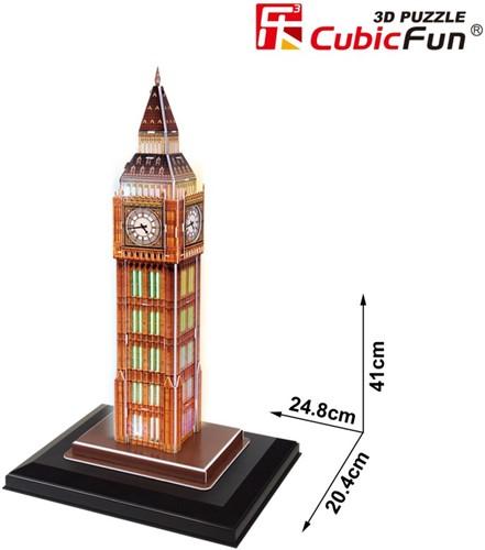 3D Puzzel Big Ben LED (28 Stukjes)-2