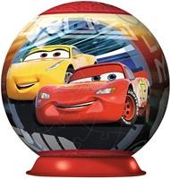 Disney Cars 3 - 3D puzzel Bal (72 stukjes)