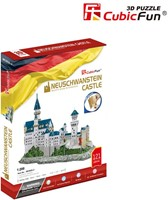 3D Puzzel - Neuschwanstein Castle (121 stukjes)