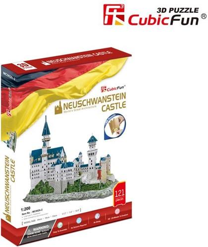 3D Puzzel - Neuschwanstein Castle (121 stukjes)-1