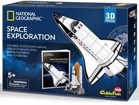 3D Puzzel Kids - Space Exploration (65 stukjes)-1