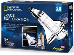3D Puzzel Kids - Space Exploration (65 stukjes)
