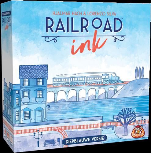 Railroad Ink (Diepblauwe versie) (demo spel)