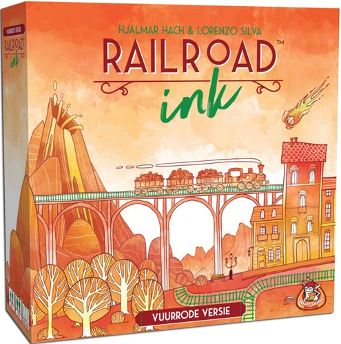 Railroad Ink (Vuurrode versie)