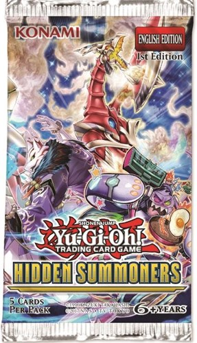 Yu-Gi-Oh! - Hidden Summoners Boosterpack