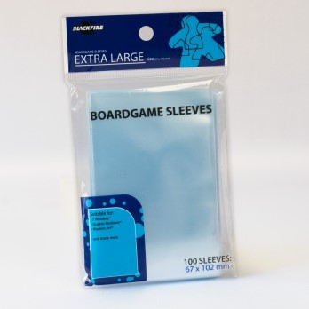 Blackfire Boardgame Sleeves - Extra Large (67x102mm)