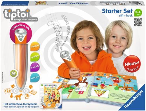 Tiptoi Starterset - Stift + Geluiden-prentenboek