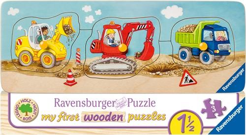 De kleine Bouwplaats Puzzel (3 stukjes)