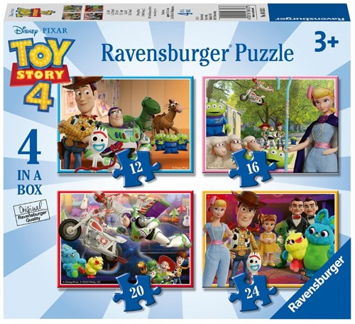 Toy Story 4 Puzzel (4 in 1)