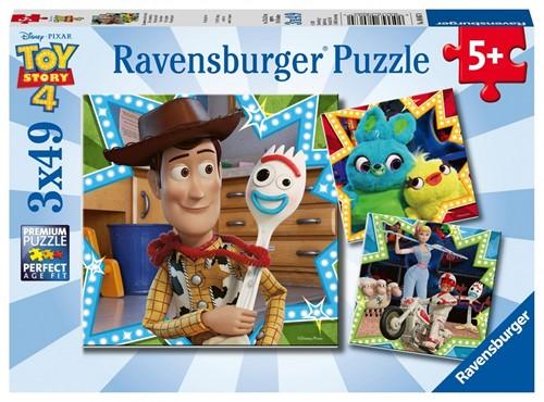 Toy Story 4 - Puzzel (3x49 stukjes)