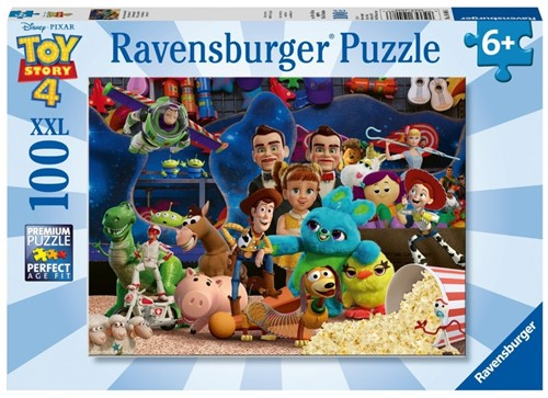 Toy Story 4 Puzzel (100 XXL stukjes)