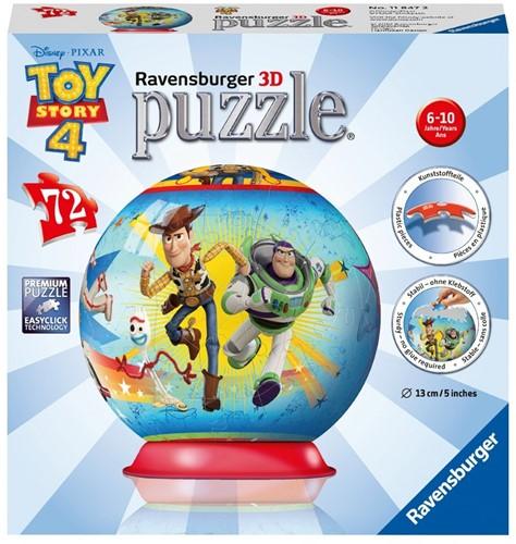 3D Puzzel - Toy Story 4 (72 stukjes)