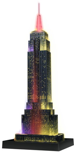 3D Puzzel - Empire State Building - Night Edition (216 stukjes)-2
