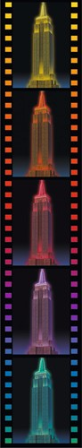 3D Puzzel - Empire State Building - Night Edition (216 stukjes)-3