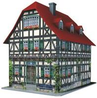 3D Puzzel - Middeleeuws Huis (216 stukjes)-2
