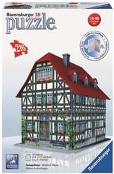 3D Puzzel - Middeleeuws Huis (216 stukjes)