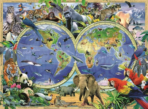 World of Wildlife XXL Puzzel (300 stukjes)-2