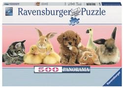 Dierenvrienden Puzzel (500 stukjes)