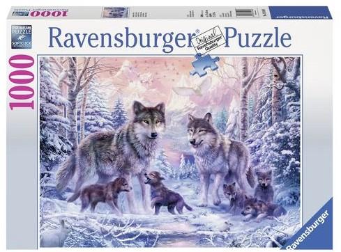 Arctische Wolven Puzzel (1000 stukjes)-1