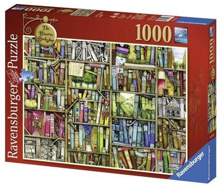 Colin Thompson:Bizare Bookshop Puzzel (1000 stukjes)