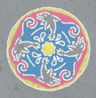 Outdoor Mandala-Designer Happy Ocean-2