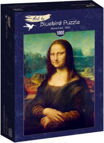 Leonardo Da Vinci - Mona Lisa Puzzel (1000 stukjes)