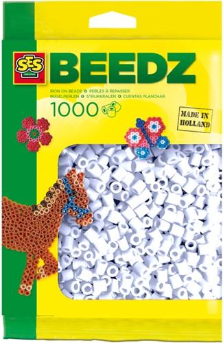 Strijkkralen 1000 stuks Wit