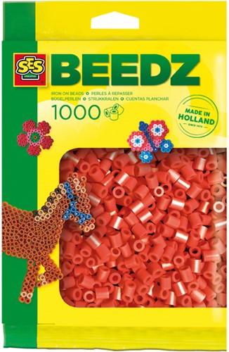 SES - Strijkkralen 1000 stuks Rood