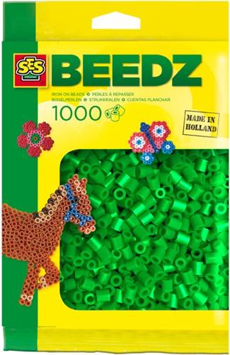 Strijkkralen 1000 stuks Groen