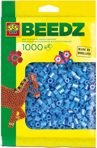 SES - Strijkkralen 1000 stuks Blauw