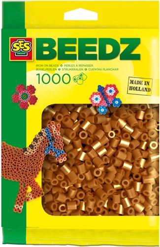 SES - Strijkkralen 1000 stuks Bruin